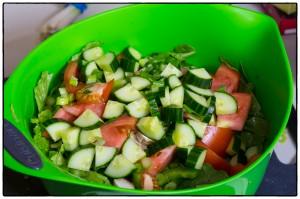 Maple Bacon Vinaigrette Salad