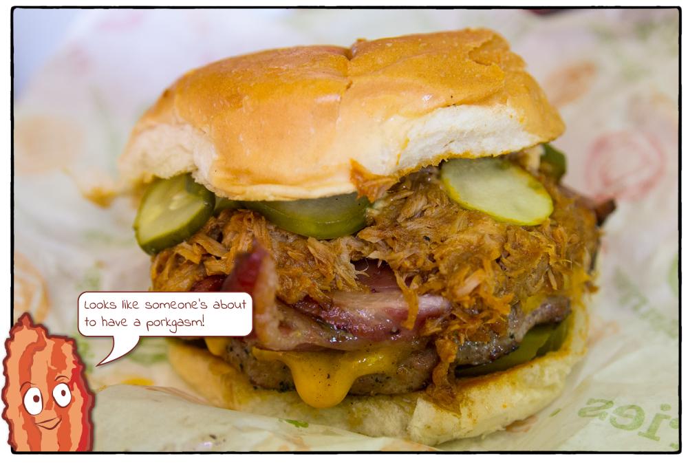 Flip Burger - Three Burgers